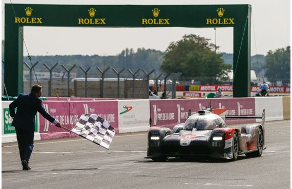Toyota triumphs at the 88th 24 Hours of Le Mans