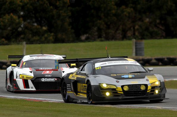 Two Audi podium places at the season opener in New Zealand