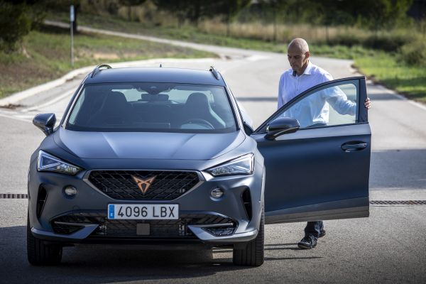 Behind the wheel of the CUPRA Formentor for the first time