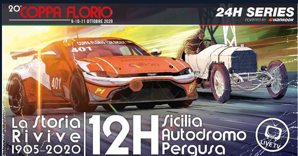 CREVENTIC on course to surpass estimated grid size for revived COPPA FLORIO 12H Sicily