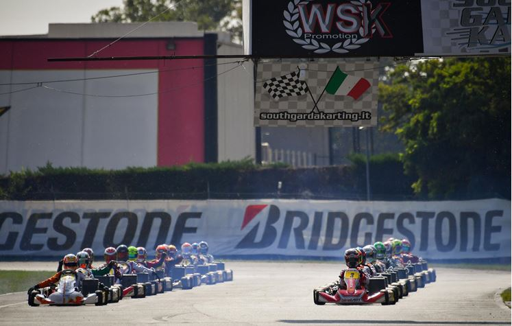 WSK Euro Series in Lonato: Prefinals in Live Streaming after the remaining heats on Saturday