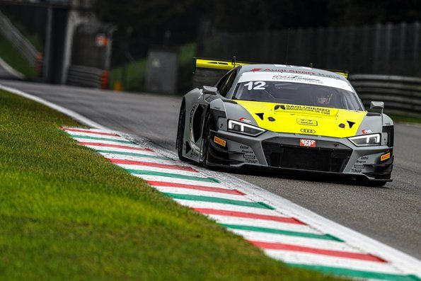 Riccardo Agostini GT3 championship leader before sprint finale in Italy