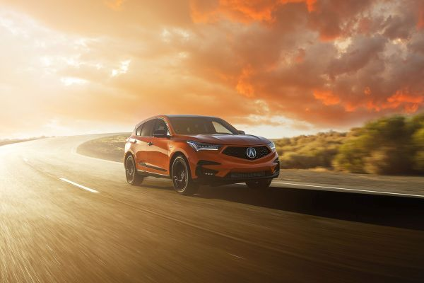 Thermal Orange 2021 Acura RDX PMC Edition Arrives in Time for Halloween