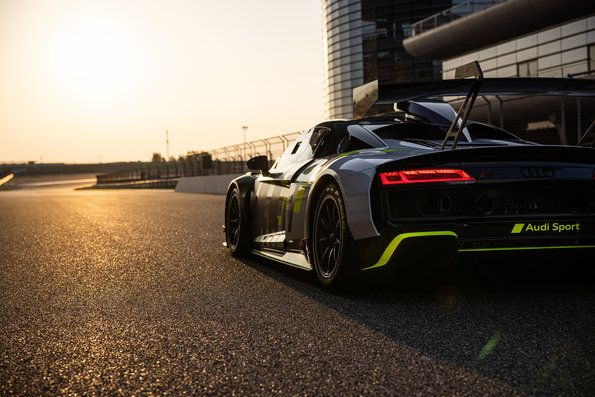 Audi R8 LMS GT2 launched in China