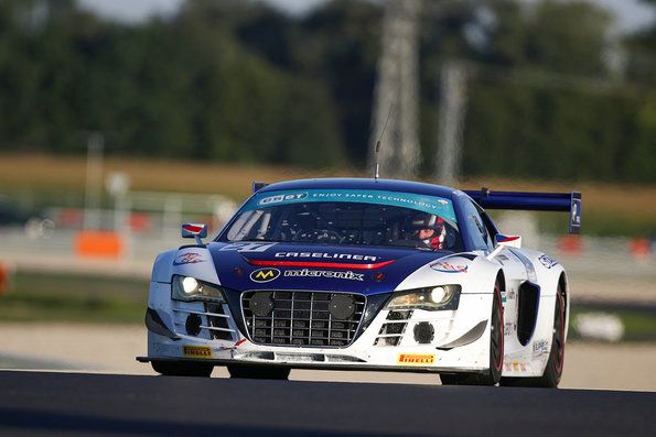 Three podiums for Audi at Slovakiaring