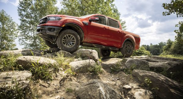 New Ford Ranger Tremor Off−Road Package Creates Most Off−Road−Capable Factory−Built Ranger Ever for U.S. Customers
