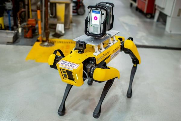 Ford Experiments with Four-Legged Robots, to Scout Factories, Saving Time, Money