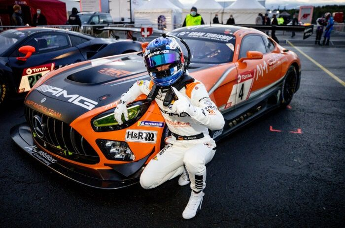 Pole position for Mercedes-AMG in 24-hour race Nürburgring