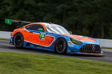 Mercedes-AMG Motorsport Customer Racing Teams in the IMSA WeatherTech SportsCar Championship at Mid-Ohio