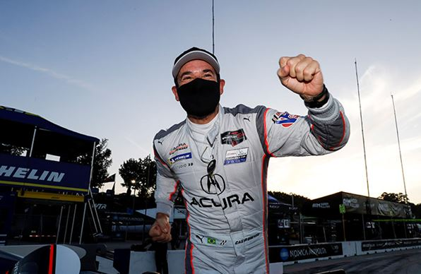 Helio Castroneves #Acura 7 takes 6 hour IWSC race win at Road Atlanta  - classification