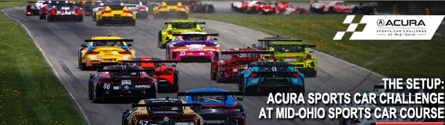 Tune-In: Acura Sports Car Challenge At Mid-Ohio