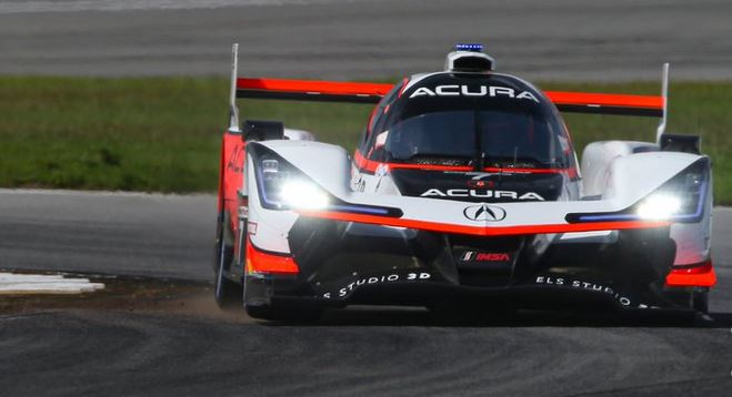 Mid-Ohio IWSC Race classification Ricky Taylor #Acura 7 takes victory