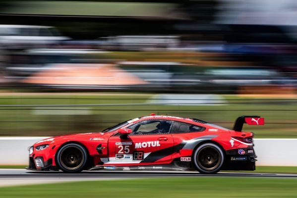 Victory for BMW Team RLL at Road Atlanta – Bruno Spengler and Connor De Phillippi finish in P1 in the MOTUL BMW M8 GTE.