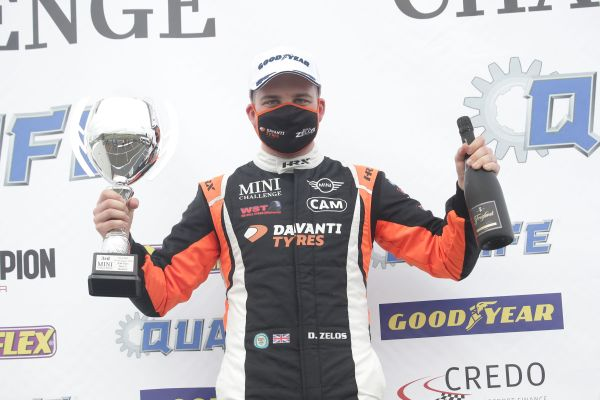 Double Knockhill podium vaults Dan Zelos to within two points of championship lead