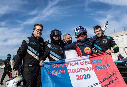 Baud crowned inaugural Ligier JS2 R champion