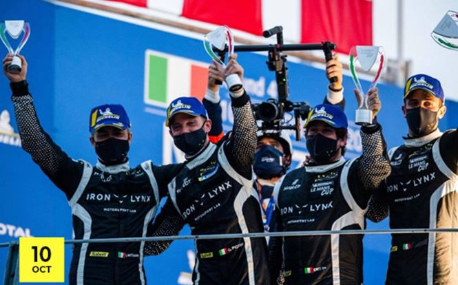 Iron Lynx are Michelin Le Mans Cup 2020 Champions with Piccini and Mastronardi