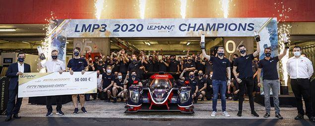 An all Ligier top 4 with the JS P320s and the LMP3 Title in Portimão