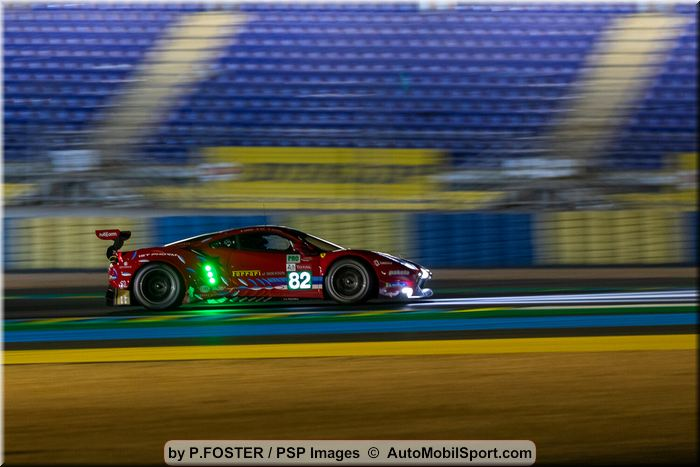 Risi Competizione post 24 Hours of Le Mans - notes and quotes