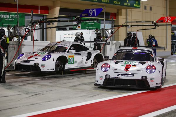 Porsche tackles WEC finale in Bahrain from pole position