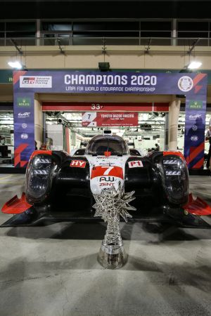 Toyota Gazoo Racing one-two in Bahrain secures drivers' title