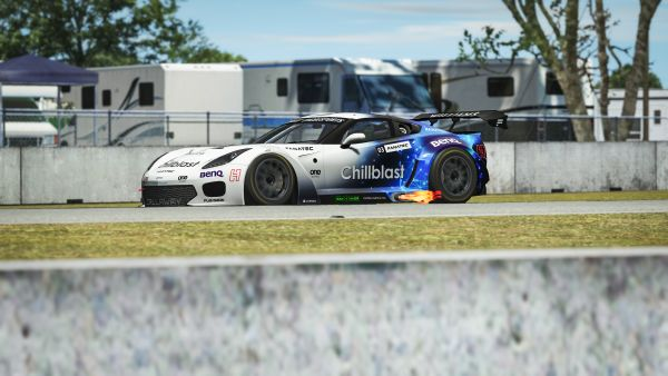 "Start of the ""Rfactor 2 GT Pro Series powered by VCO - Wisniewski and Alsabti win in Sebring"