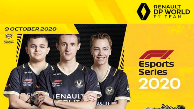 Team Renault Vitality ready to conquer the World Title of F1® Esports