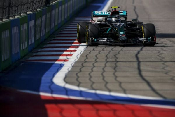 Mercedes AMG Petronas F1 Russian GP practices -Valtteri quickest in both practices
