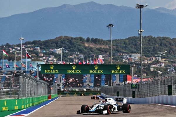 Williams F1 Russian GP practices review ups and downs in Sochi