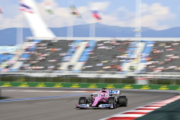 BWT RacingPoint F1 Russian GP practices review - positive day