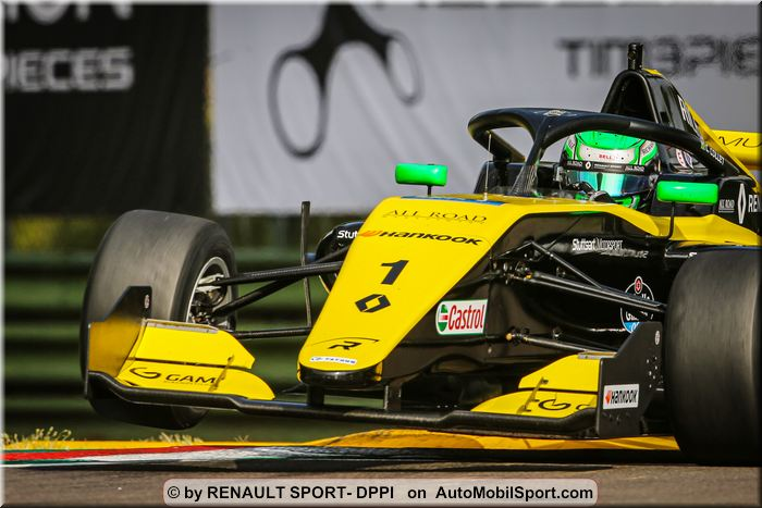 Zandvoort next for Collet and David in Formula Renault Eurocup