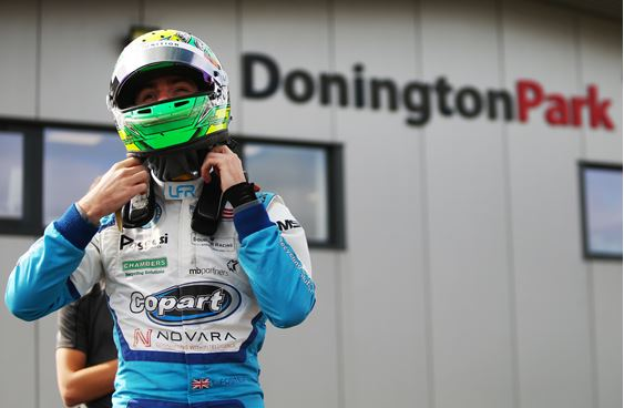 Louis Foster in high spirits ahead of Donington Park