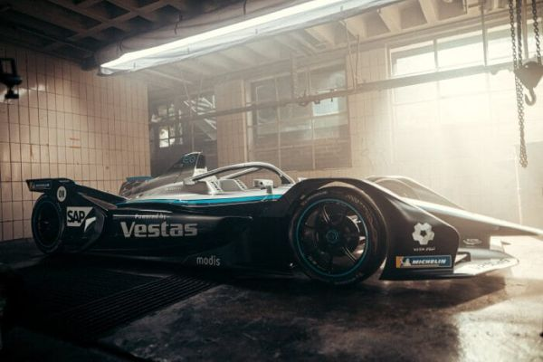 Mercedes-Benz EQ Silver Arrow 02 ready for the test drives in Valencia