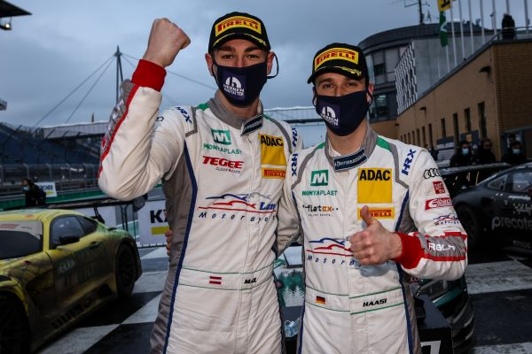 Audi duo Hofer and Haase win rain-affected Saturday thriller at the Lausitzring