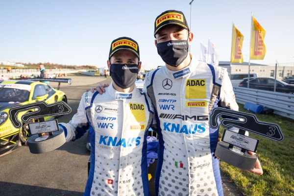 ADAC GT Masters Oschersleben race 2 classification Victory for Ellis / Marciello in final race