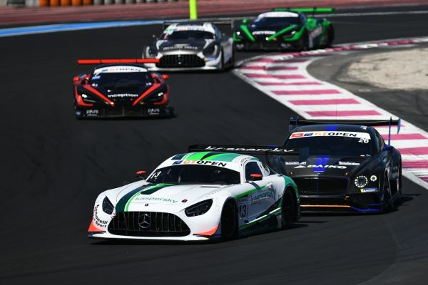 Nesov/Moiseev claim two GT Open AM podium finishes in Antonelli Motorsport's Mercedes at Paul Ricard