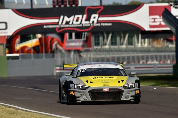 3-point gap to fill for Riccardo Agostini and Daniel Mancinelli from the top of the Italian GT Endurance tables after Imola