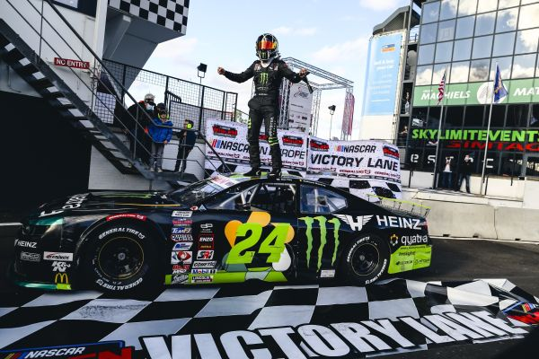 NASCAR GP BELGIUM Alon Day grabs his first win of the season and the championship lead at Circuit Zolder