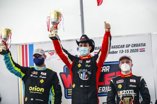 Vittorio Ghirelli sweeps the NASCAR GP Croatia