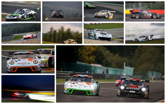An overview of the Porsche 24h Spa teams and drivers