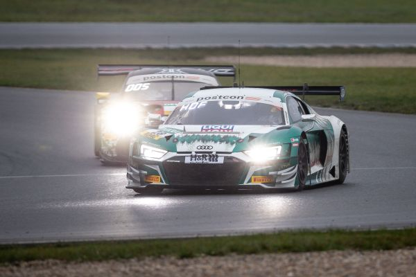 ADAC GT Masters Lausitzring race 1 classification Victory for Hofer and Haase