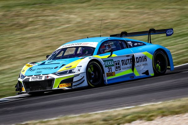 Lausitzring ADAC GT Masters Practice 2 classification- Rutronik Audi fastest