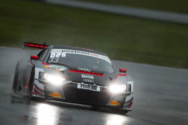 Rain cools down I.S.R. racing's competitiveness at Lausitzring