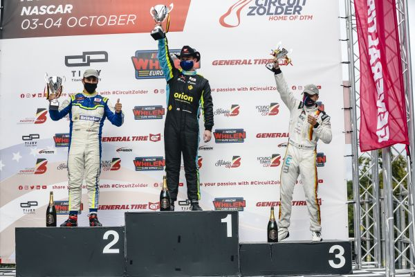 NASCAR GP BELGIUM Martin Doubek back-to-back at Circuit Zolder