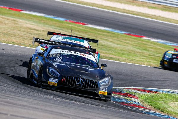 Lausitzring ADAC GT Masters Junior Trophy practice classification
