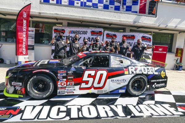 GP NASCAR ITALIE Tobias Dauenhauer mène drapeau à drapeau pour remporter sa première victoire en EuroNASCAR - Résultats