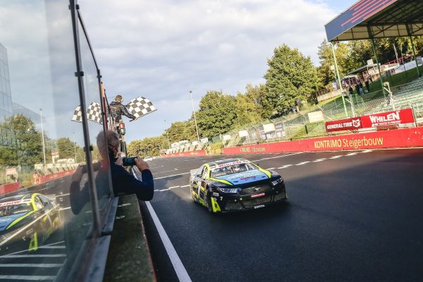 NASCAR GP BELGIUM - Martin Doubek's first NASCAR win is a dominant one