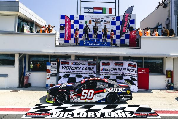 NASCAR GP ITALY Loris Hezemans picks up the win in a spectacular EuroNASCAR PRO Round 1