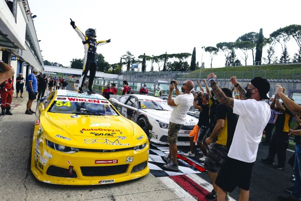 NASCAR GP ITALY -Gianmarco Ercoli returns to Victory Lane at his home track