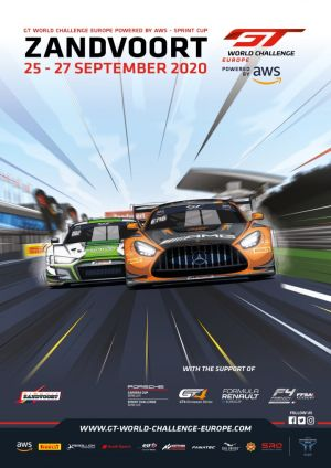 Zandvoort GT World Challenge Europe Sprint Cup Entry List and timetable