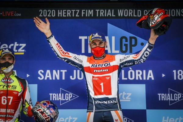 Bou claims TrialGP victory in Andorra, the fourth of the season -results,standings
